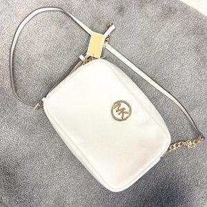 Michael Kors | Fulton Light Cream Shoulder Bag